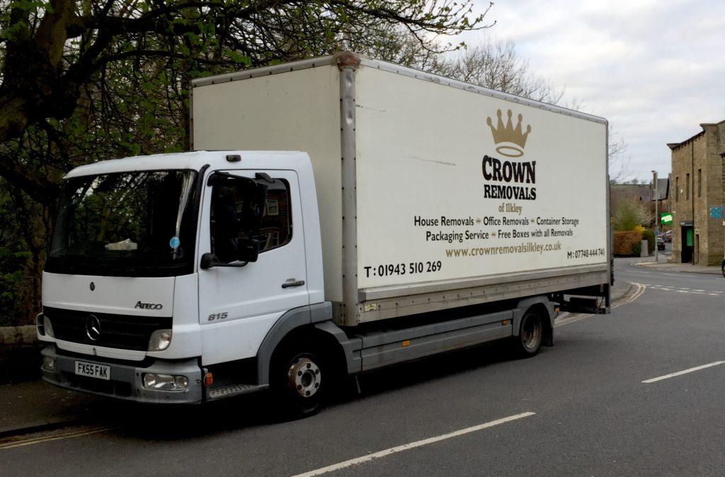Ilkley removal van