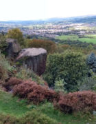 View of Burley in Wharfedale